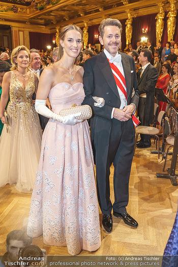 Philharmonikerball 2020 - Musikverein Wien - Do 23.01.2020 - Harald MAHRER mit Ehefrau Andrea87