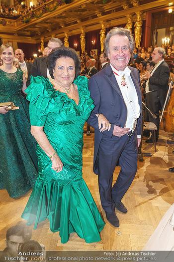 Philharmonikerball 2020 - Musikverein Wien - Do 23.01.2020 - Rudolf und Agi BUCHBINDER88
