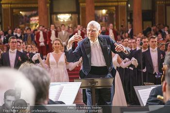 Philharmonikerball 2020 - Musikverein Wien - Do 23.01.2020 - Balleröffnung mit Orchester und Dirigent Herbert BLOMSTEDT95