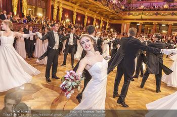 Philharmonikerball 2020 - Musikverein Wien - Do 23.01.2020 - Balleröffnung durch die Debüdantenpaare103