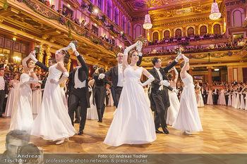 Philharmonikerball 2020 - Musikverein Wien - Do 23.01.2020 - Balleröffnung durch die Debüdantenpaare104