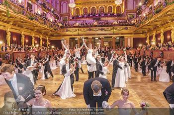 Philharmonikerball 2020 - Musikverein Wien - Do 23.01.2020 - Balleröffnung durch die Debüdantenpaare108