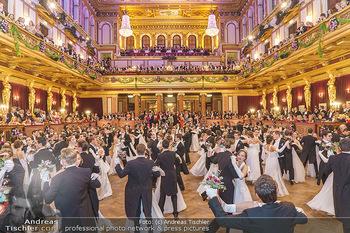 Philharmonikerball 2020 - Musikverein Wien - Do 23.01.2020 - Balleröffnung durch die Debüdantenpaare109