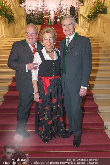Jägerball - Hofburg Wien - Mo 27.01.2020 - Leo J. NAGY mit Ehefrau Elisabeth, Thomas SCHÄFER-ELMAYER2