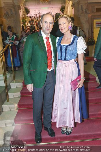 Jägerball - Hofburg Wien - Mo 27.01.2020 - Christoph und Eva DICHAND28