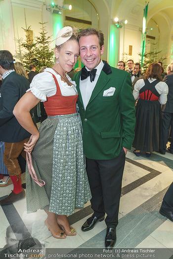 Jägerball - Hofburg Wien - Mo 27.01.2020 - Vera BÖHNISCH mit Josef37