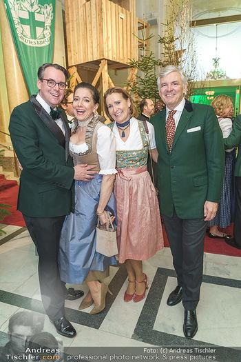 Jägerball - Hofburg Wien - Mo 27.01.2020 - Niki und Kristina VENTURINI, Bettina STEIGENBERGER, Ronnie LEITG38