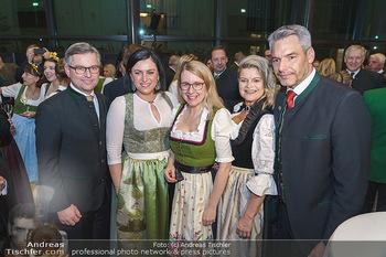 Jägerball - Hofburg Wien - Mo 27.01.2020 - Magnus BRUNNER, Elisabeth KÖSTINGER, Margarete SCHRAMBÖCK, Kla49
