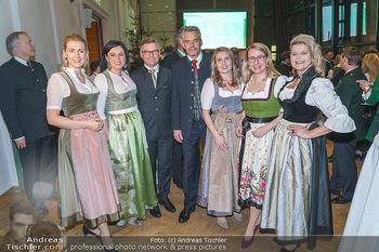 Jägerball - Hofburg Wien - Mo 27.01.2020 - Elisabeth KÖSTINGER, Margarete SCHRAMBÖCK, Klaudia TANNER, Chr56