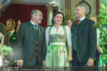 Jägerball - Hofburg Wien - Mo 27.01.2020 - Wolfgang SOBOTKA, Karl NEHAMMER, Elisabeth KÖSTINGER70