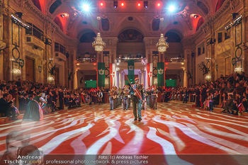 Jägerball - Hofburg Wien - Mo 27.01.2020 - Eröffnung mit Gardemusik85