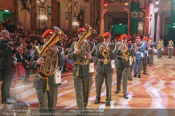 Jägerball - Hofburg Wien - Mo 27.01.2020 - Eröffnung mit Gardemusik86