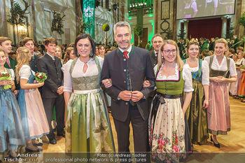 Jägerball - Hofburg Wien - Mo 27.01.2020 - Elisabeth KÖSTINGER, Karl NEHAMMER, Margarete SCHRAMBÖCK104