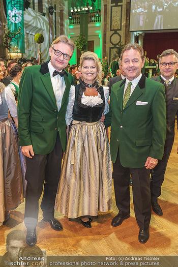 Jägerball - Hofburg Wien - Mo 27.01.2020 - Gerald GERSTBAUER, Klaudia TANNER, Niki BERLAKOVIC106