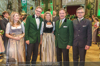 Jägerball - Hofburg Wien - Mo 27.01.2020 - Gerald GERSTBAUER, Klaudia TANNER, Niki BERLAKOVIC, Susanne RAAB107