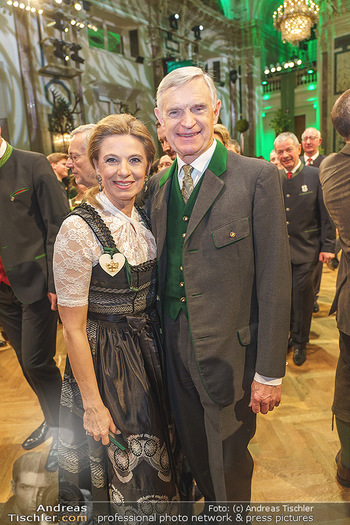 Jägerball - Hofburg Wien - Mo 27.01.2020 - Christa KUMMER, Thomas SCHÄFER-ELMAYER108