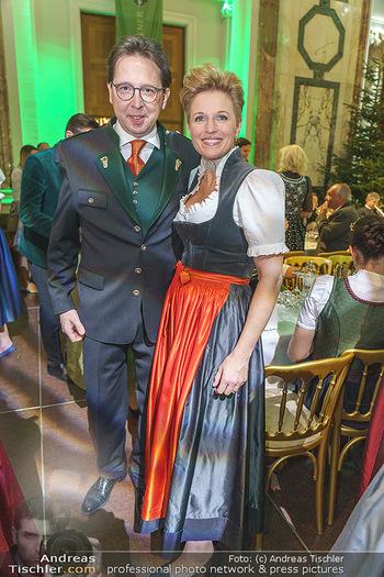 Jägerball - Hofburg Wien - Mo 27.01.2020 - Heinz und Birgit REITBAUER111