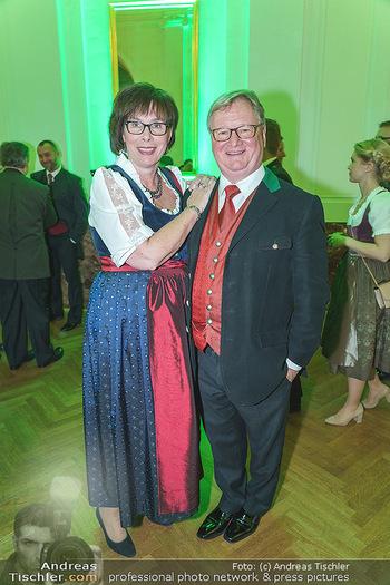 Jägerball - Hofburg Wien - Mo 27.01.2020 - Karl WESSELY mit Ehefrau116