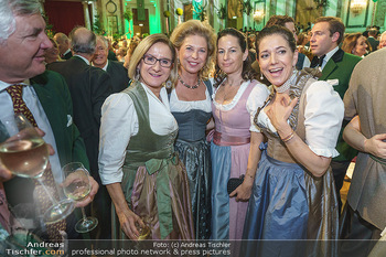 Jägerball - Hofburg Wien - Mo 27.01.2020 - Johanna MIKL-LEITNER, Evi HÖFER, Birgit LAUDA, Kristina VENTURI122