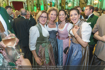 Jägerball - Hofburg Wien - Mo 27.01.2020 - Johanna MIKL-LEITNER, Evi HÖFER, Birgit LAUDA, Kristina VENTURI123