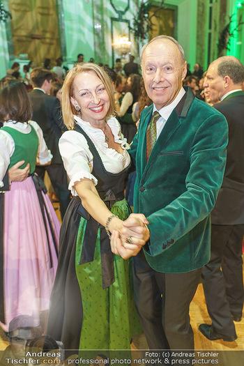 Jägerball - Hofburg Wien - Mo 27.01.2020 - Wolfgang RUTTENSTORFER mit Ehefrau Susanne134