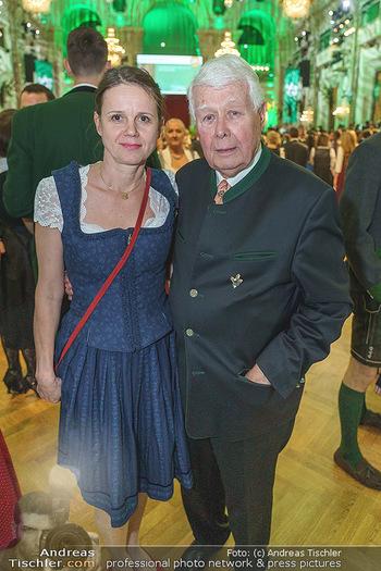 Jägerball - Hofburg Wien - Mo 27.01.2020 - Peter WECK mit Begleitung Johanna136