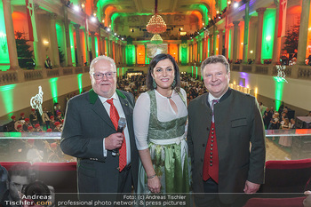Jägerball - Hofburg Wien - Mo 27.01.2020 - Leo J. NAGY, Elisabeth KÖSTINGER, Michael LUDWIG144