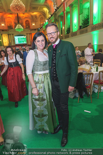 Jägerball - Hofburg Wien - Mo 27.01.2020 - Elisabeth KÖSTINGER, Thomas KASSL161