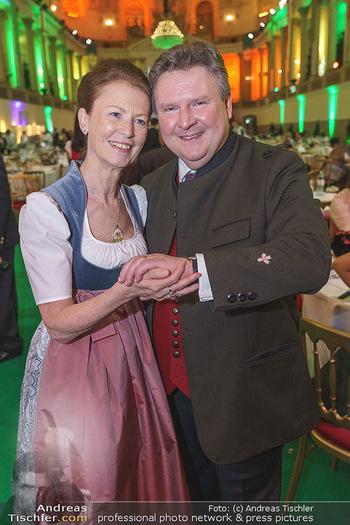 Jägerball - Hofburg Wien - Mo 27.01.2020 - Michael LUDWIG mit Ehefrau Irmtraud170