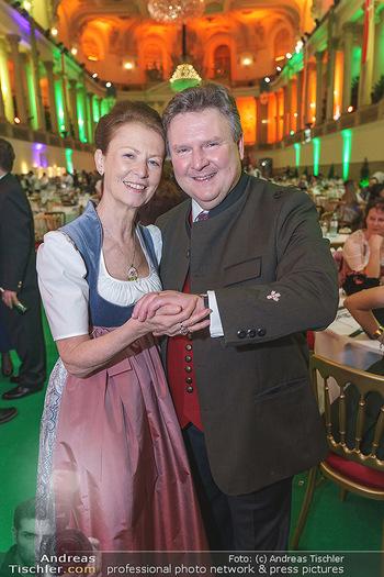 Jägerball - Hofburg Wien - Mo 27.01.2020 - Michael LUDWIG mit Ehefrau Irmtraud171