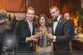 Gentlemen´s Club Kick Off Event - Park Hyatt, Wien - Di 28.01.2020 - Clemens TRISCHLER, Julia CENCIG, Michael STEINOCHER17