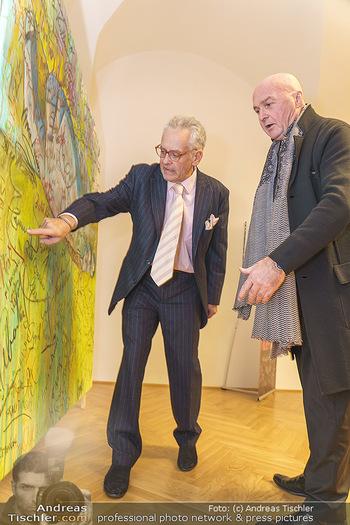 Ein Gemälde für Mikl-Leitner - Palais Niederösterreich, Wien - Mi 29.01.2020 - Christian MUCHA, Raimund SEIDL20