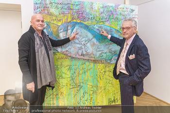 Ein Gemälde für Mikl-Leitner - Palais Niederösterreich, Wien - Mi 29.01.2020 - Christian MUCHA, Raimund SEIDL21