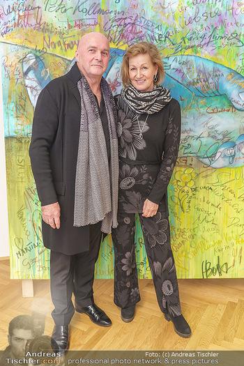 Ein Gemälde für Mikl-Leitner - Palais Niederösterreich, Wien - Mi 29.01.2020 - Raimund und Simone SEIDL24