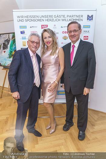 Ein Gemälde für Mikl-Leitner - Palais Niederösterreich, Wien - Mi 29.01.2020 - Christian und Ekaterina MUCHA, Günther OFNER27