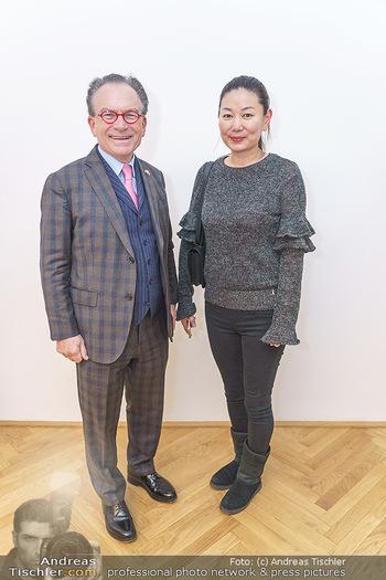 Ein Gemälde für Mikl-Leitner - Palais Niederösterreich, Wien - Mi 29.01.2020 - Georg ZANGER mit Begleitung29
