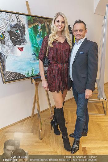 Ein Gemälde für Mikl-Leitner - Palais Niederösterreich, Wien - Mi 29.01.2020 - Beatrice KÖRMER, Heimo TURIN35