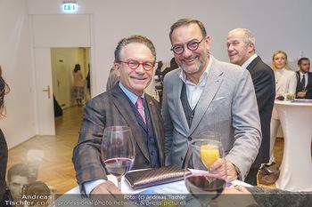 Ein Gemälde für Mikl-Leitner - Palais Niederösterreich, Wien - Mi 29.01.2020 - Georg ZANGER, Heinz STIASTNY39