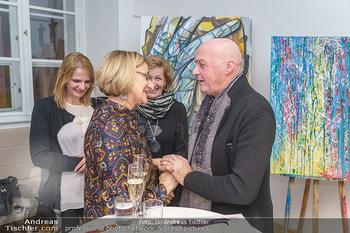 Ein Gemälde für Mikl-Leitner - Palais Niederösterreich, Wien - Mi 29.01.2020 - Johanna MIKL-LEITNER, Raimund SEIDL43