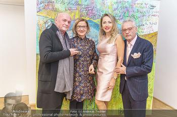 Ein Gemälde für Mikl-Leitner - Palais Niederösterreich, Wien - Mi 29.01.2020 - Johanna MIKL-LEITNER, Raimund SEIDL, Christian und Ekaterina MUC48