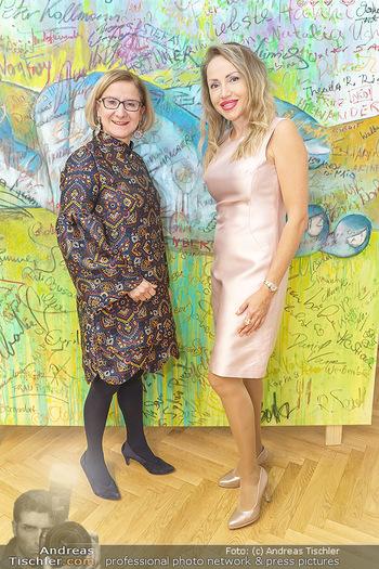 Ein Gemälde für Mikl-Leitner - Palais Niederösterreich, Wien - Mi 29.01.2020 - Johanna MIKL-LEITNER, Ekaterina MUCHA49