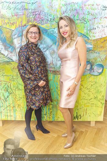 Ein Gemälde für Mikl-Leitner - Palais Niederösterreich, Wien - Mi 29.01.2020 - Johanna MIKL-LEITNER, Ekaterina MUCHA50
