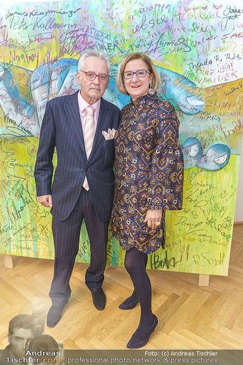 Ein Gemälde für Mikl-Leitner - Palais Niederösterreich, Wien - Mi 29.01.2020 - Johanna MIKL-LEITNER, Christian MUCHA51