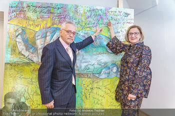Ein Gemälde für Mikl-Leitner - Palais Niederösterreich, Wien - Mi 29.01.2020 - Johanna MIKL-LEITNER, Christian MUCHA52