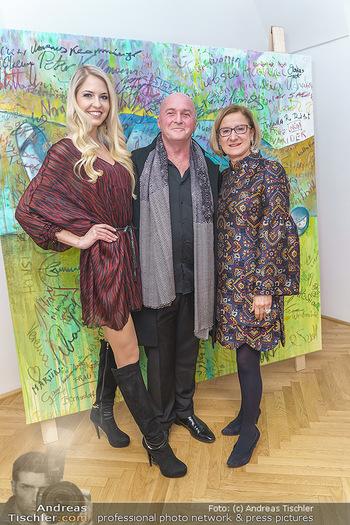 Ein Gemälde für Mikl-Leitner - Palais Niederösterreich, Wien - Mi 29.01.2020 - Beatrice KÖRMER, Raimund SEIDL, Johanna MIKL-LEITNER57