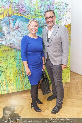 Ein Gemälde für Mikl-Leitner - Palais Niederösterreich, Wien - Mi 29.01.2020 - Uschi SIMACEK, Heinz STIASTNY58