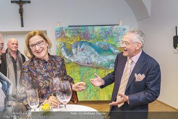 Ein Gemälde für Mikl-Leitner - Palais Niederösterreich, Wien - Mi 29.01.2020 - Johanna MIKL-LEITNER, Christian MUCHA61