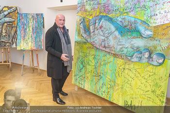 Ein Gemälde für Mikl-Leitner - Palais Niederösterreich, Wien - Mi 29.01.2020 - Raimund SEIDL63
