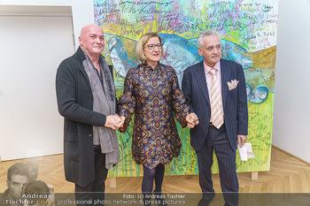 Ein Gemälde für Mikl-Leitner - Palais Niederösterreich, Wien - Mi 29.01.2020 - Raimund SEIDL, Johanna MIKL-LEITNER, Christian MUCHA66