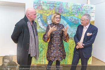Ein Gemälde für Mikl-Leitner - Palais Niederösterreich, Wien - Mi 29.01.2020 - Raimund SEIDL, Johanna MIKL-LEITNER, Christian MUCHA67